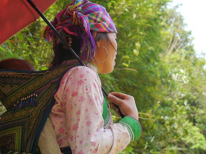 Hmong bevolking Sapa Vietnam