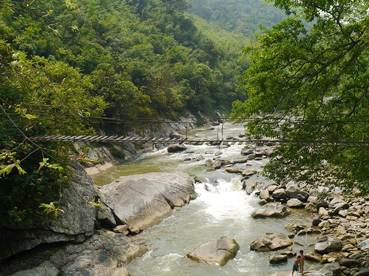 Rivier rondom Sapa Vietnam